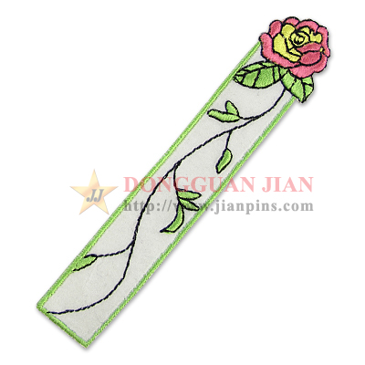 embroidery bookmark