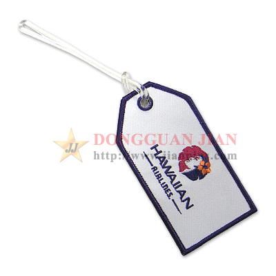 embroidered luggage tags for sale