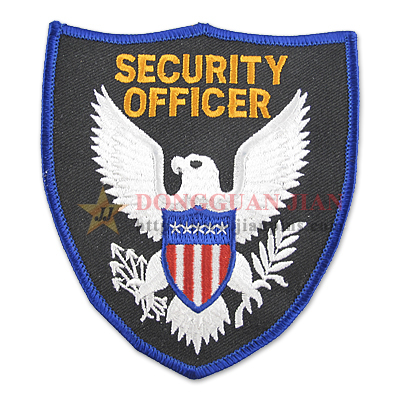 custom security officer patches