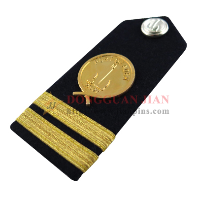 personalised epaulettes