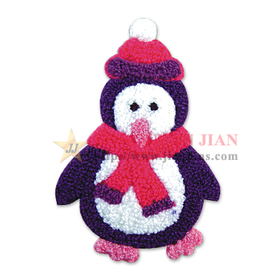 snowman chenille patches