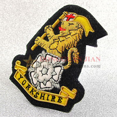 bullion badges maker