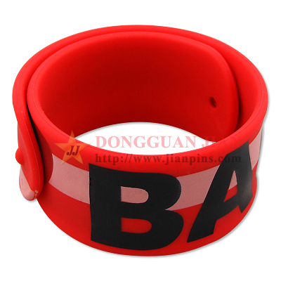 Silicone Slap Wristband Rulers