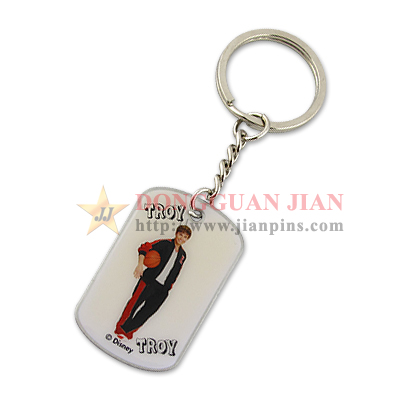 Name Tag Key Ring