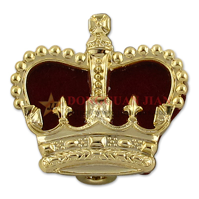 Crown Metal Badges for Sale