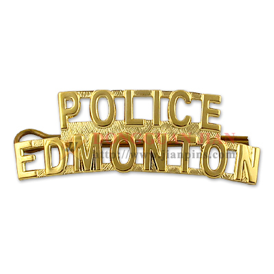Police Name Plate Badges