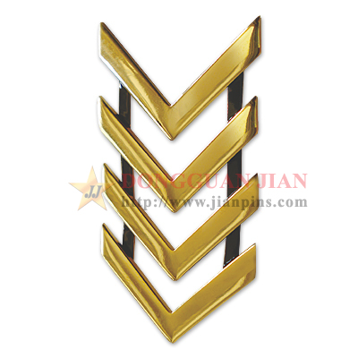 Metal Chevron Badges