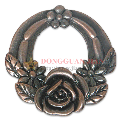 Zinc Alloy Garland Badge