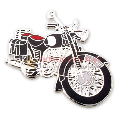 Motorcycle Hard Enamel Lapel Pins