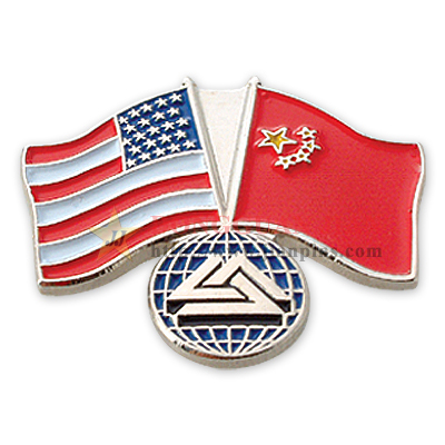 Custom FLAG PINS