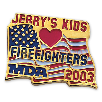 Custom Firefighter Pins Supplier