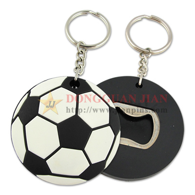 Personalized Custom Football Bottle Opener Keyring