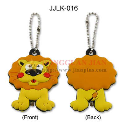 Soft PVC Keychain with LED Light