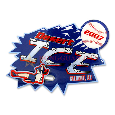 Personalized Slide Baseball Pins