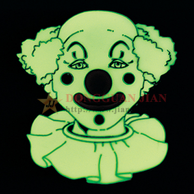 Glow In The Dark Smiley Face Pin
