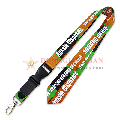 Hot Dye Sublimation Lanyards