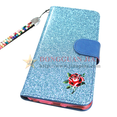Glitter PU Leather Card Cases