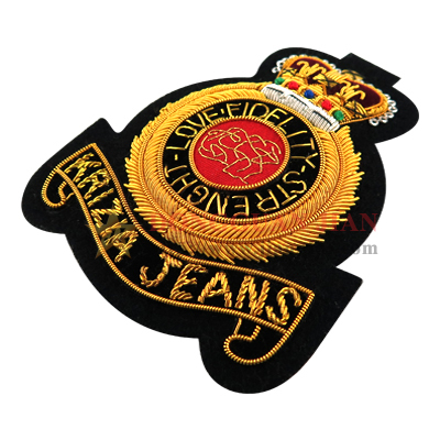 police bullion patches