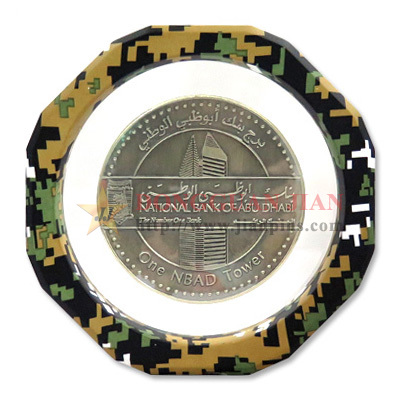 Floating Frame Coin Case