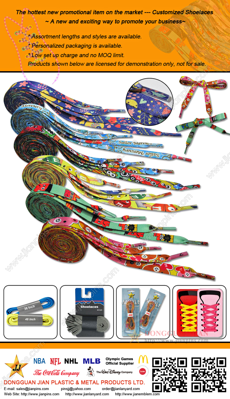 Customized Shoelaces-A New And Exciting Way To Promote Your Business