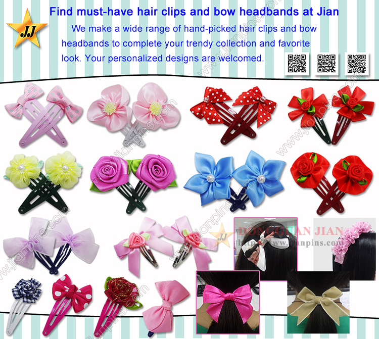 Must-Have Appealing Hair Pins und Bow Stirnbänder Von JIAN