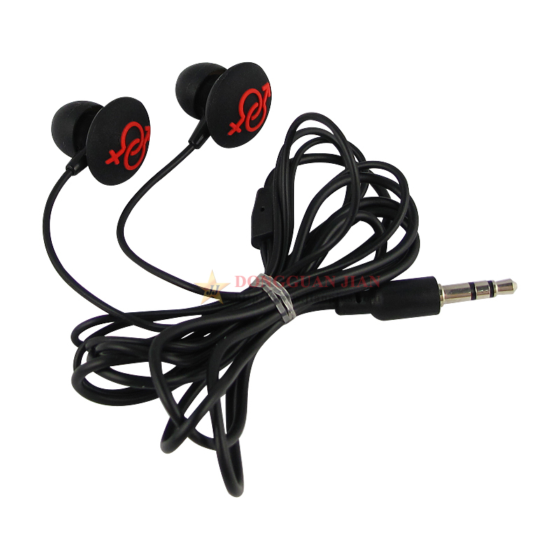 Black fashion earphones