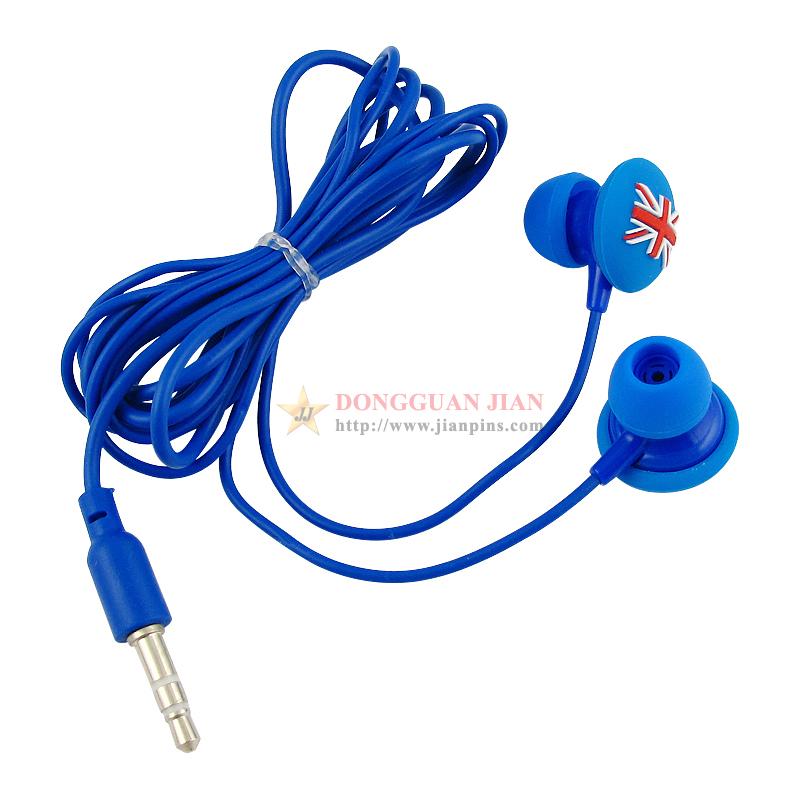 England fashion earphones