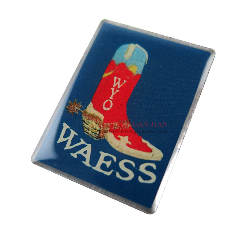 Club Offset Printed Lapel Pins