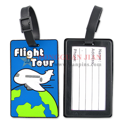 PVC Luggage Tags