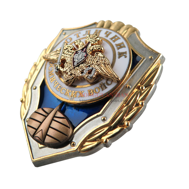 3D Zinc Alloy Custom Enamel Pins