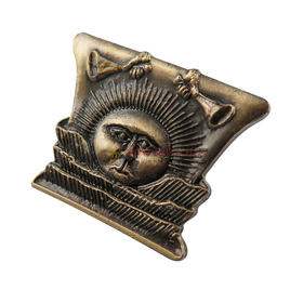 Antique Plating Zinc Alloy Badges