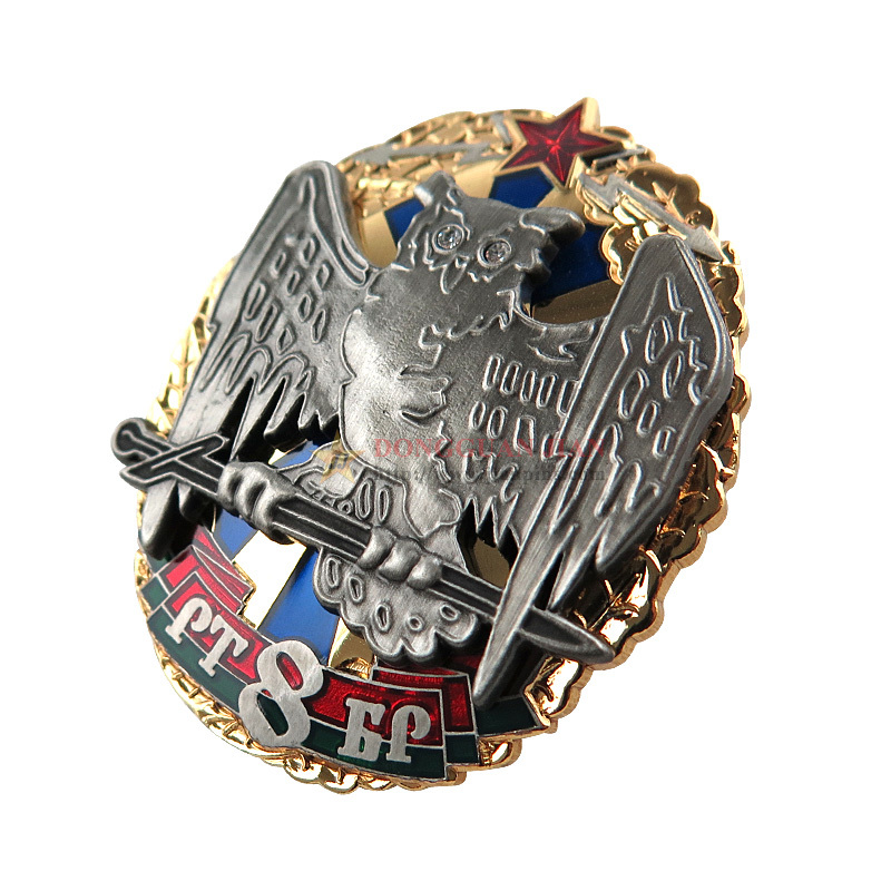 Zinc Alloy Military Lapel Pins