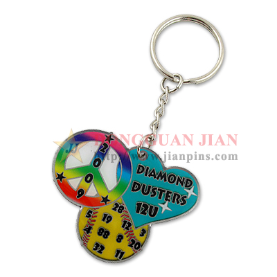 Colorful Key Rings