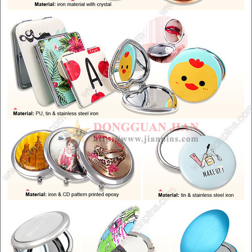 Pocket Makeup Mirrors