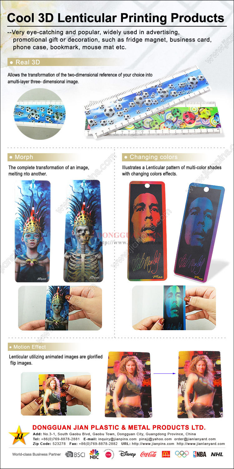Lenticular Printing Products