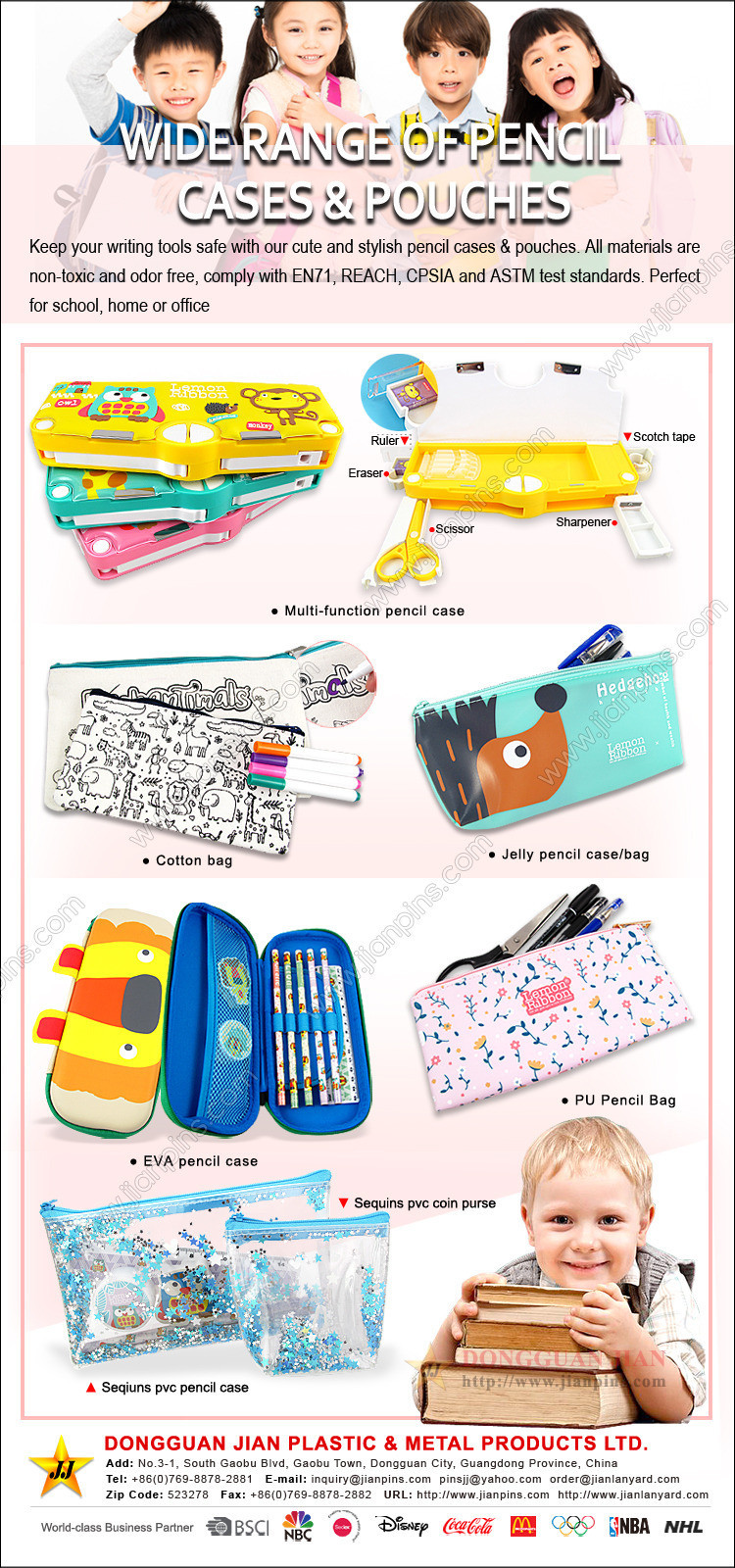 Pencil Cases and Pencil Pouches