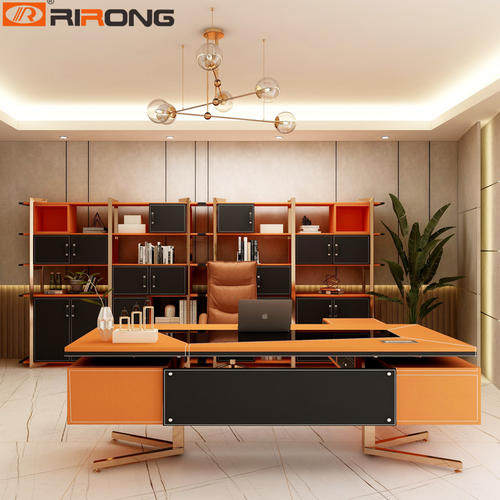 AMS Orange L Shape director table