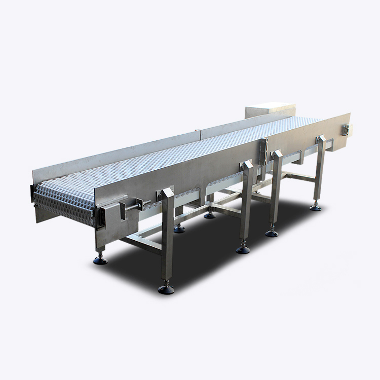 Customized Stainless Steel Horizontal Belt Conveyor Exporter