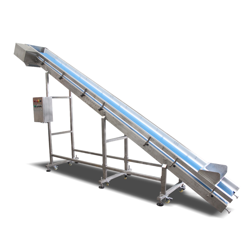 Customzied PU Belt Conveyor For Sale