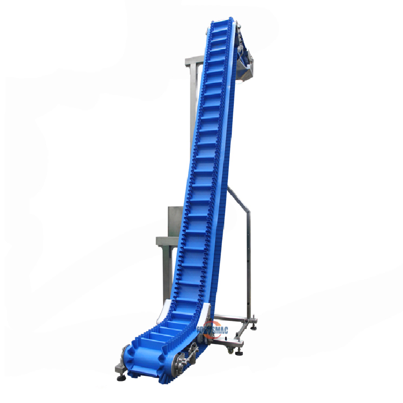 High Sanitary Inclined Easy-to-clean PU Belt Conveyor