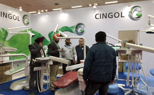CINGOL in EXPODENT India Oct.2018