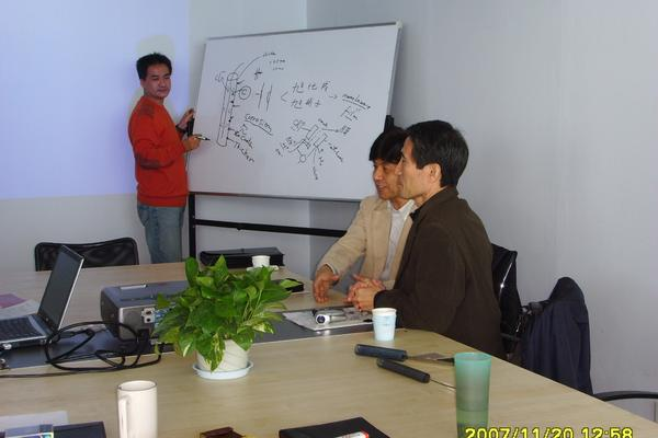 Japan Clients Visited UTron Factory