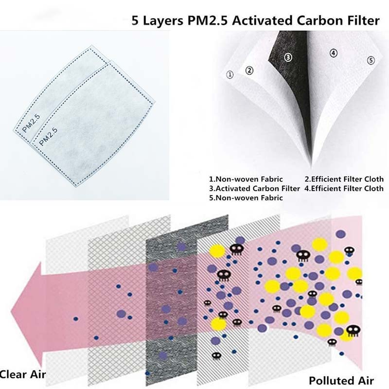 mask filter pm2.5