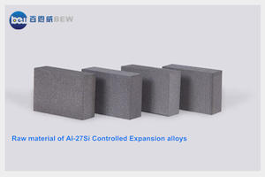 Controlled expansion Si-Al alloy is used for advanced electronic housing