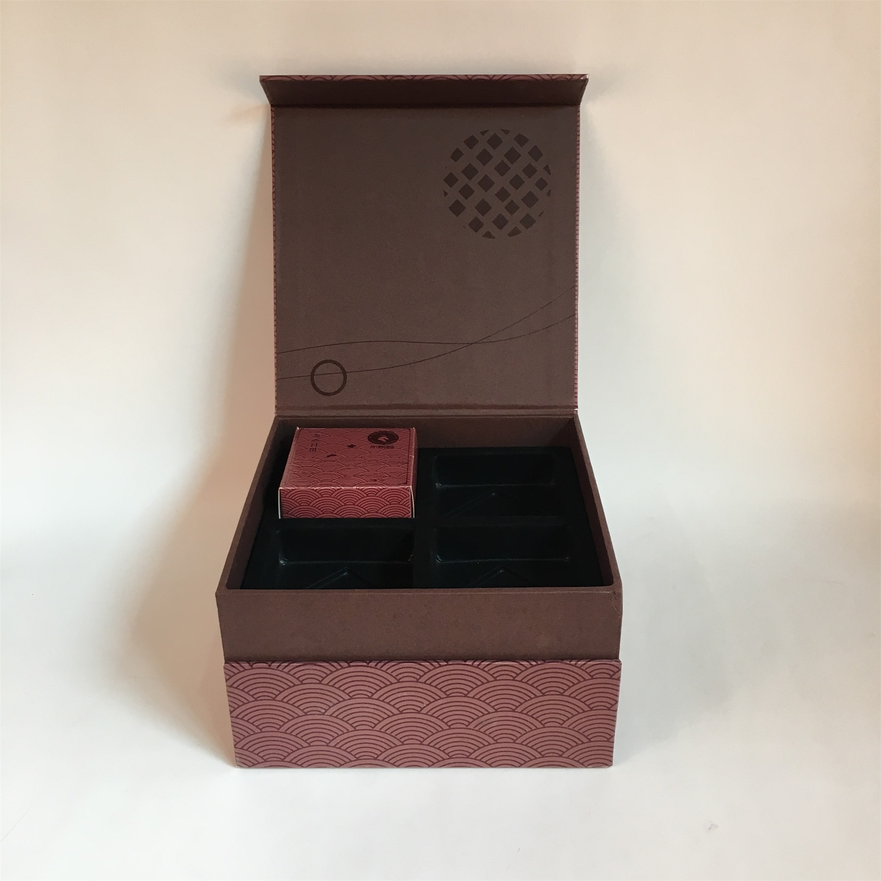 double-deck gift box