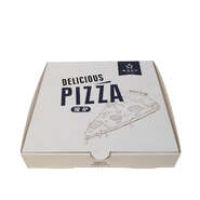 logo printing customize single layer food grade cardboard pizza box