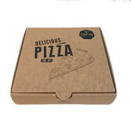 logo printing customize food grade cardboard inside lining corrugate pizza box