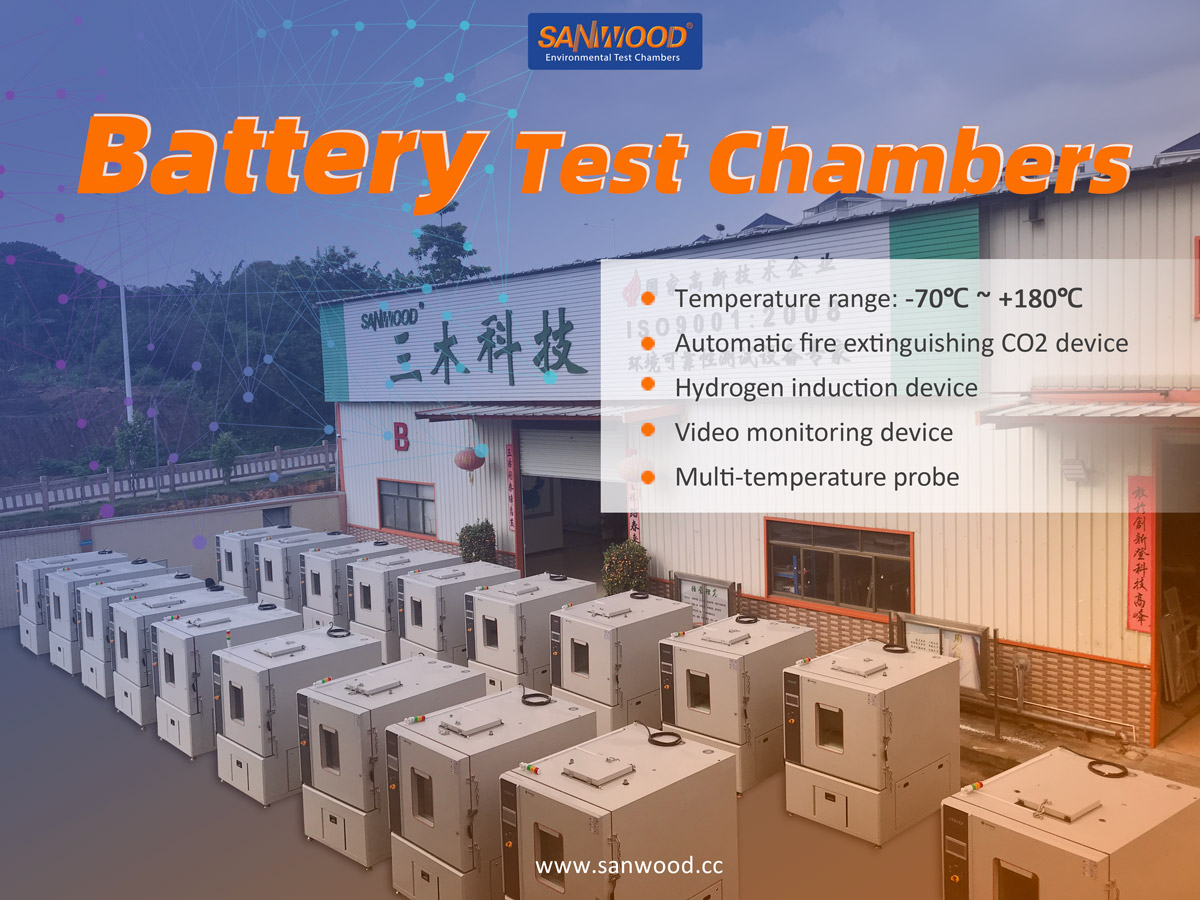 battery high low temperature explosion proof test chamber