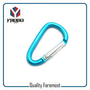 50mm Carabiner With Key Ring