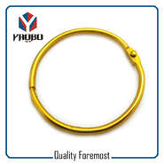Yellow Binder Ring